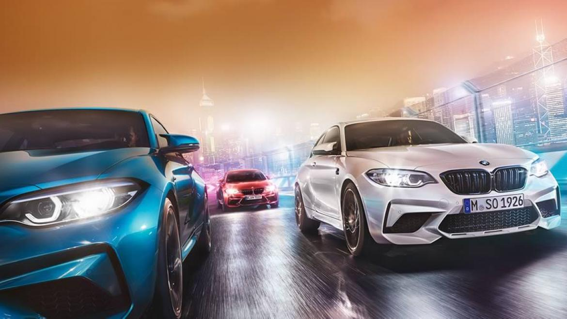 NEW BMW M2 COMPETITION.